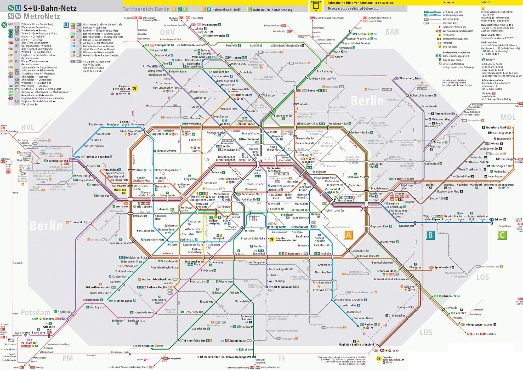 Die U-Bahn Berlin
