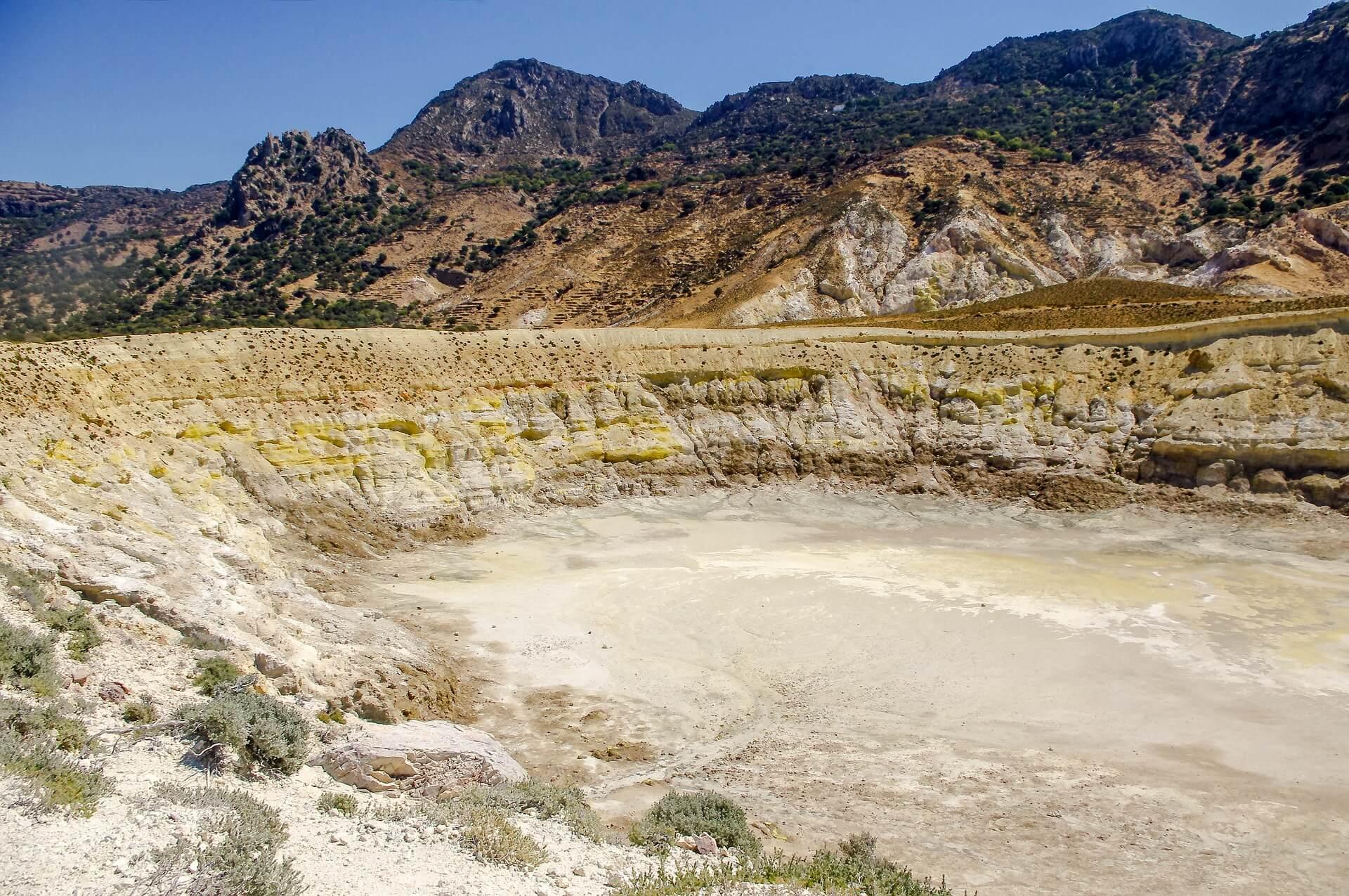Nisyros – die Vulkaninsel